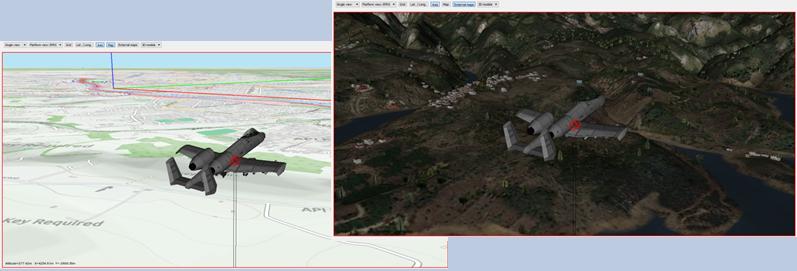 Simulatore Scenario Radar